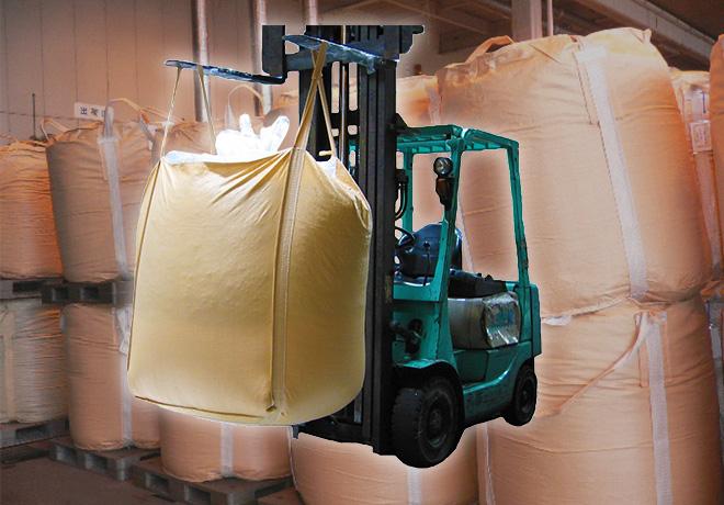 産業資材フレキシブルコンテナバッグ(JUMBO-BAG)の企画・販売事業