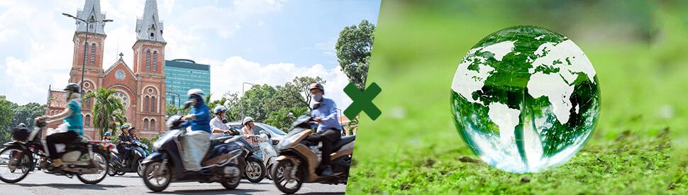 Cao su bảo vệ môi trường Việt Nam